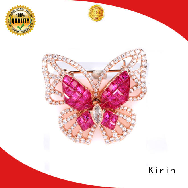 Kirin New sterling brooch China supply for mate