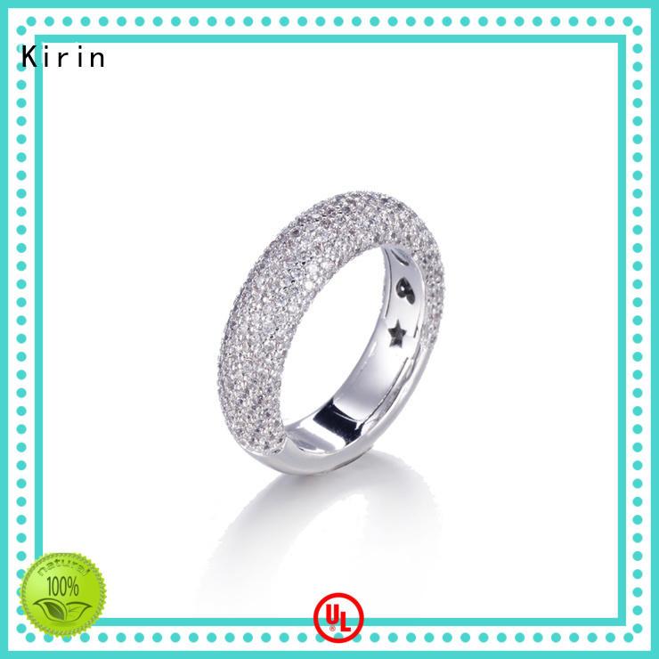Kirin new-arrival amazing silver rings shiny