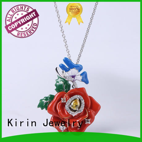 attractive pure silver jewellery set with cheap price for girlfriend