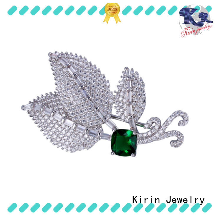 promotion silver brooch gold for girlfriend Kirin Jewelry
