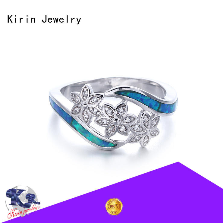 Kirin proposal real opal engagement rings marketing for mother