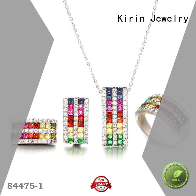 Kirin bulk blue jewellery sets at discount for family