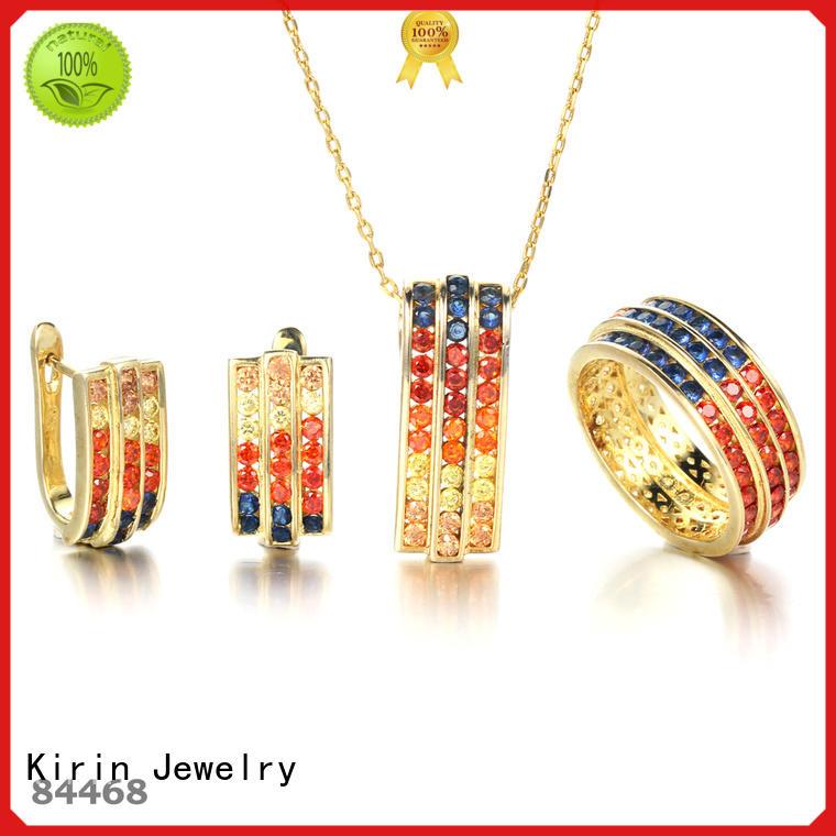 Wholesale light 925 sterling silver jewelry sets Kirin Jewelry Brand