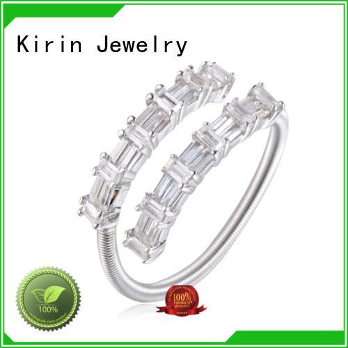 sterling gift baguette jewelry leaf Kirin Jewelry company