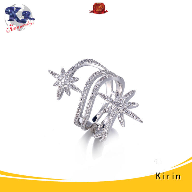 Kirin splendid silver ring set at discount for mother