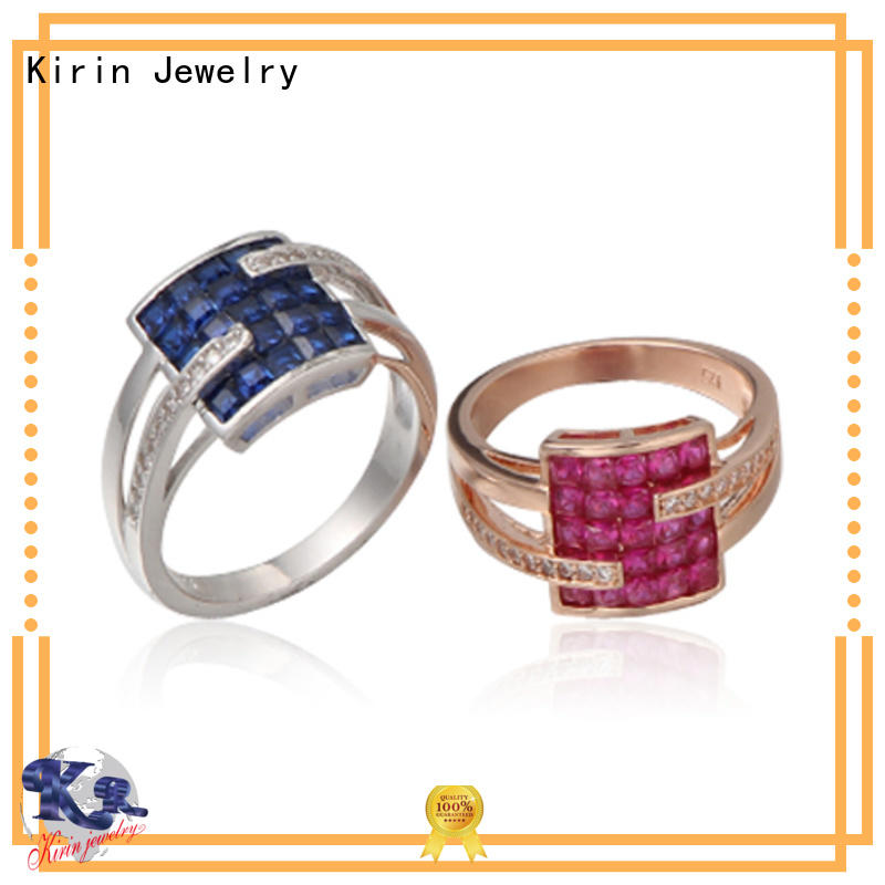 Kirin 104720 high quality sterling silver rings at discount for lover