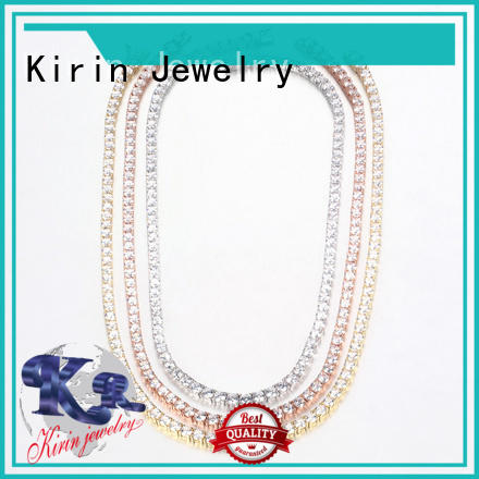 Kirin tennis 925 silver necklace from China for partner
