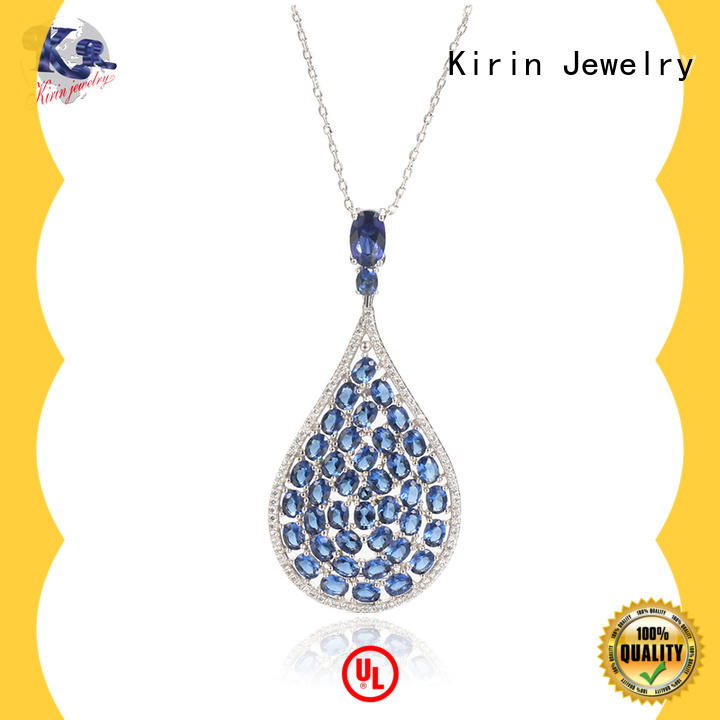 oval silver butterfly necklace inquire now for female Kirin Jewelry