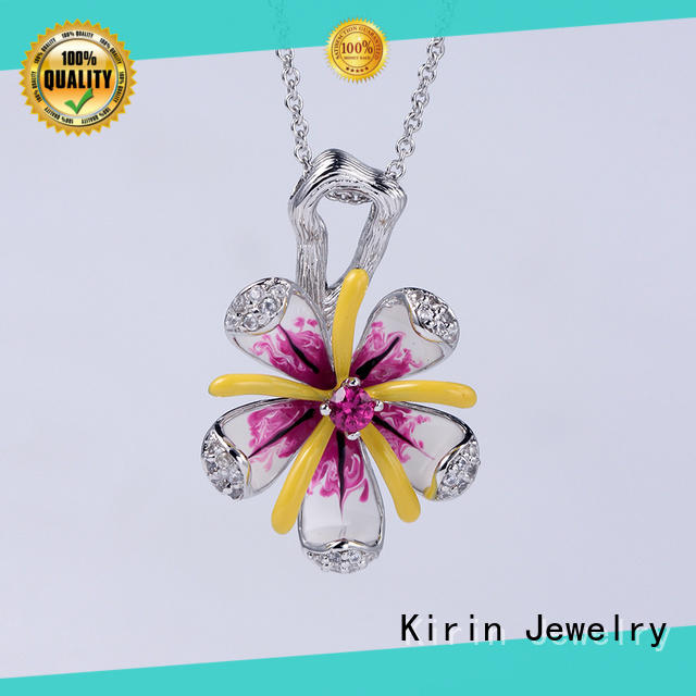 Kirin Jewelry excellent chain and earring set factory price for girlfriend