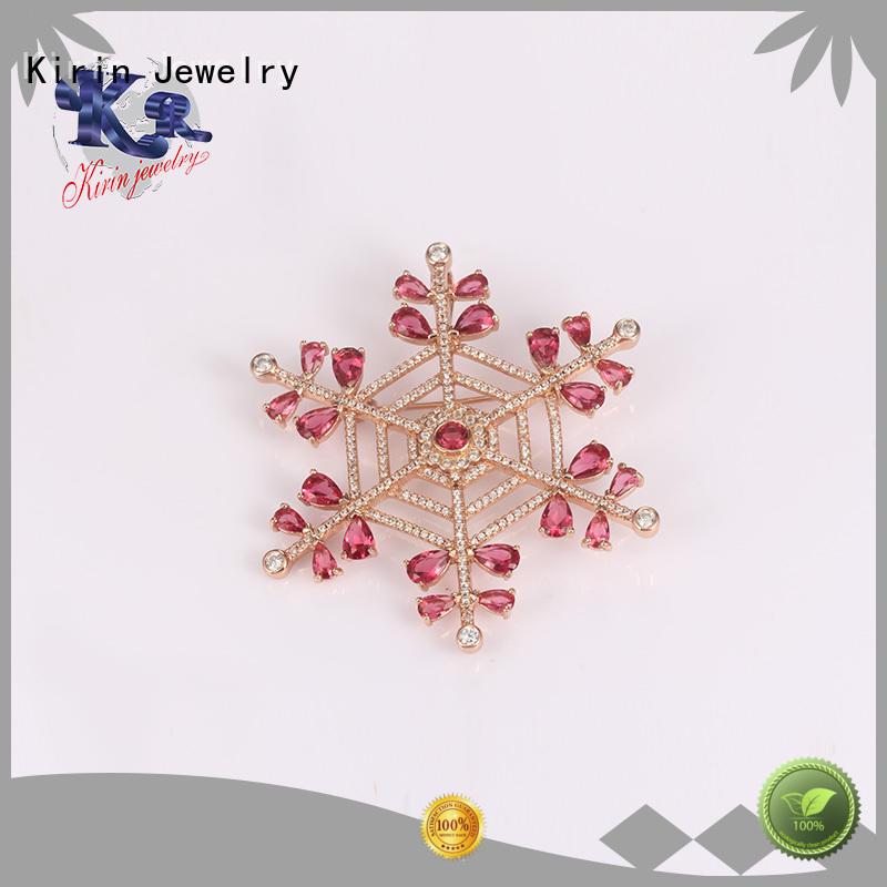 Kirin Custom sterling brooch pin wholesale for girlfriend
