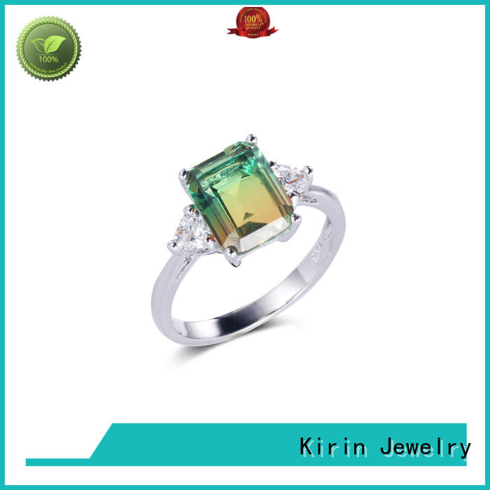 new-arrival large stone rings gems factory price for mate