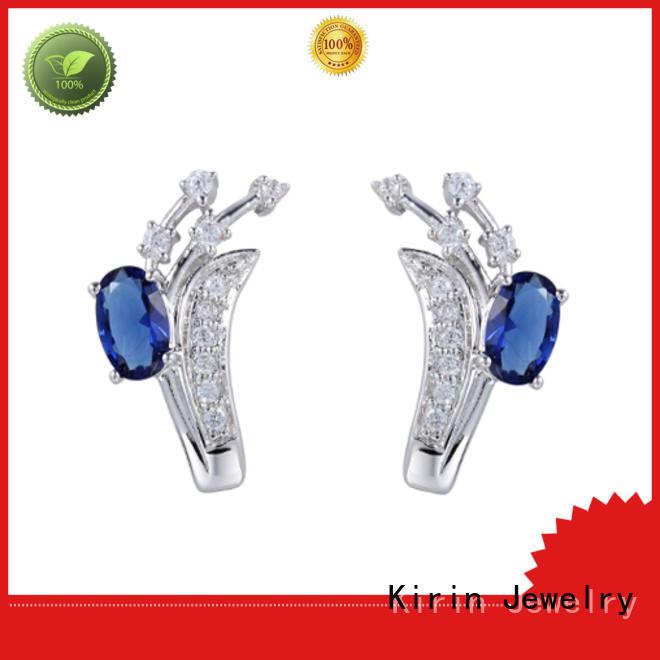 lovely silver heart earrings arrival bulk production for lover