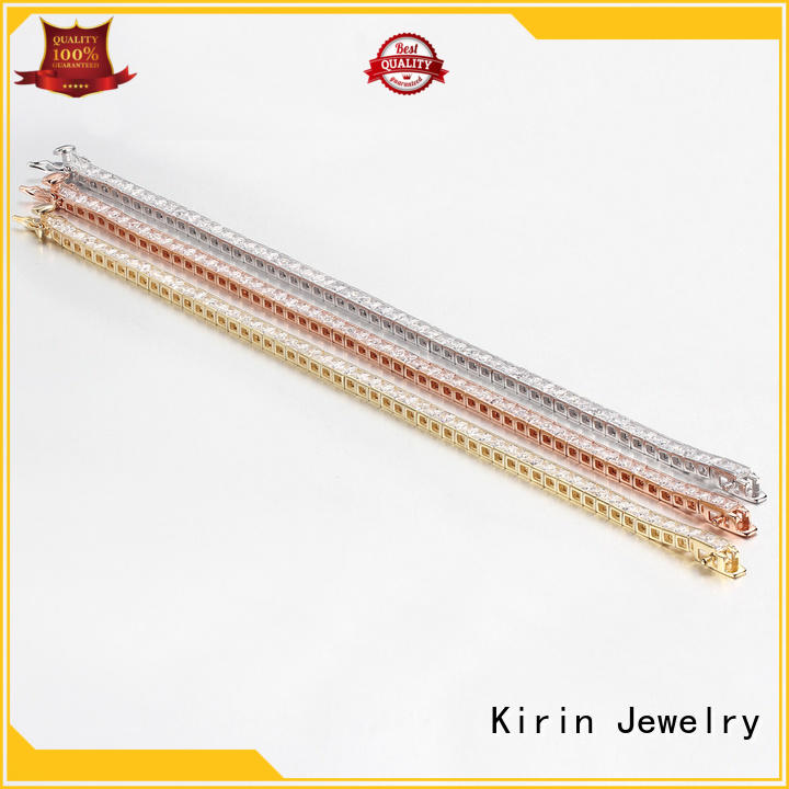 fashion jewelry lisa simple silver bracelet Kirin Jewelry Brand