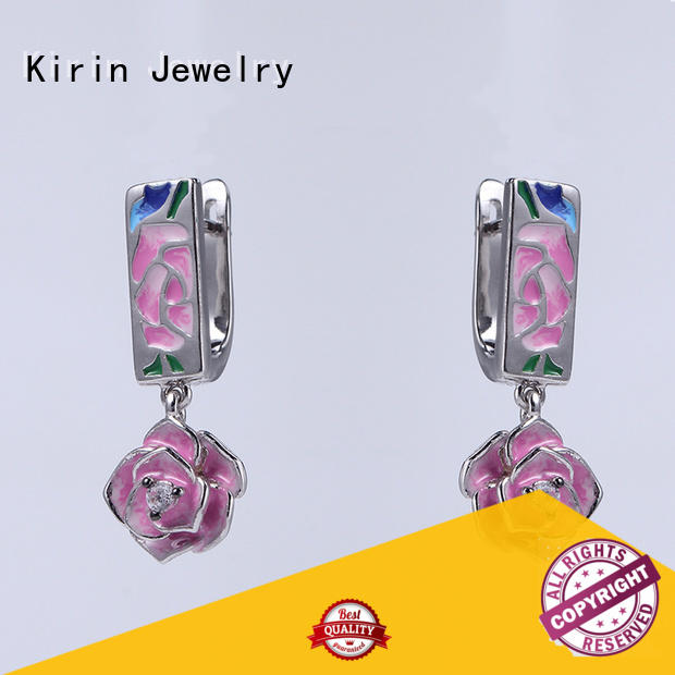 Kirin appealing necklace earring set order now for family