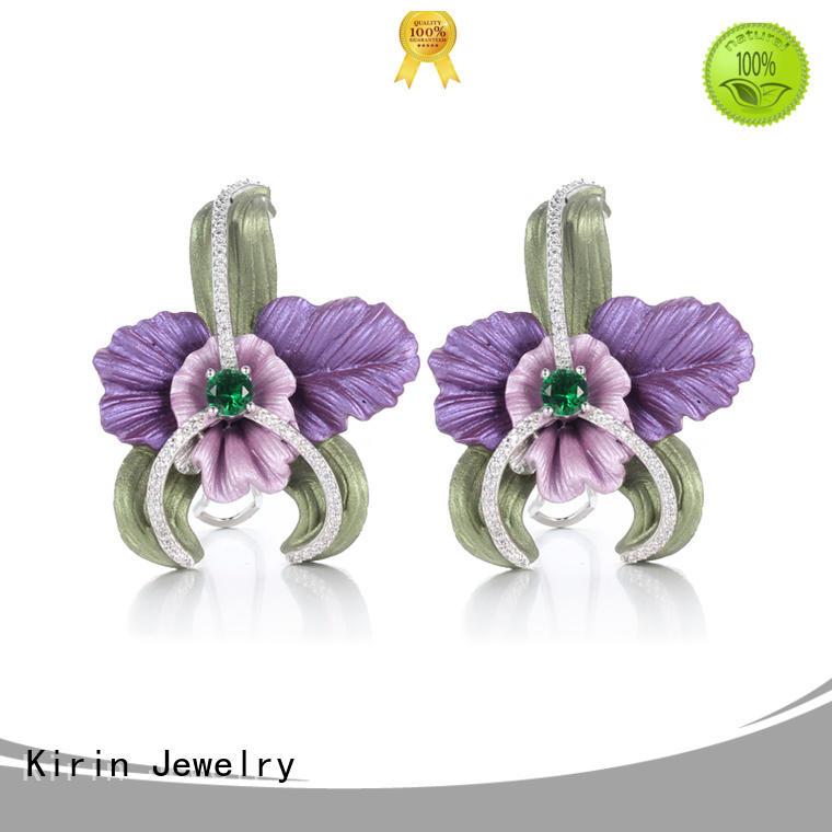 Kirin best rose gold earrings free design for girlfriend