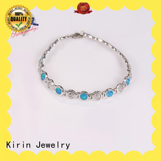 accents adjustable silver bracelet by Chinese manufaturer for mom Kirin Jewelry