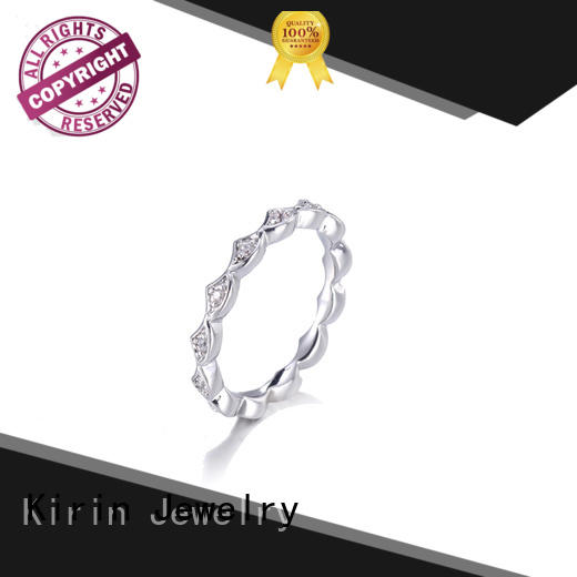 inexpensive plain silver rings for women korean from China for mom
