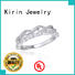 newly couple rings silver at discount for family