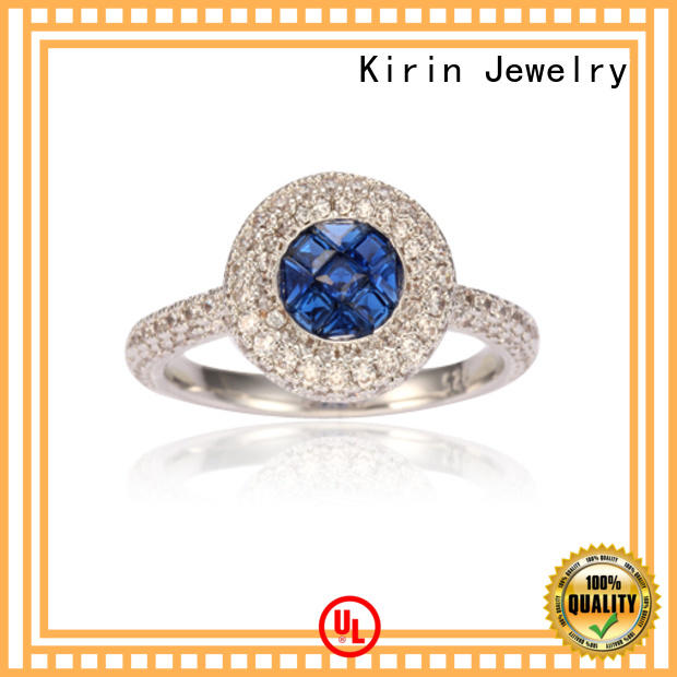 pure silver rings for womens girl for lover Kirin Jewelry