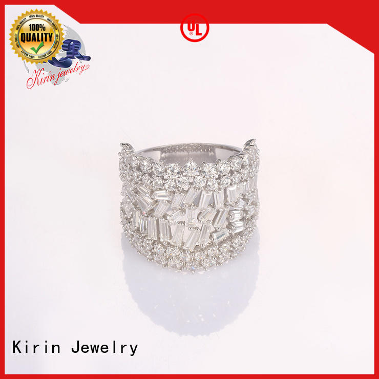 plain silver rings spring for lover Kirin Jewelry