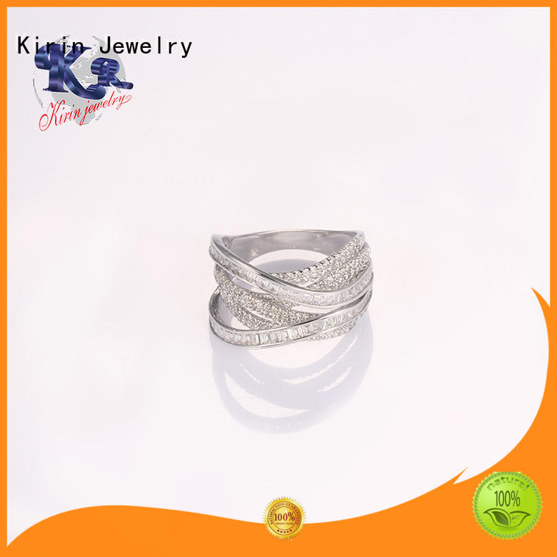 size 925 sterling silver jewelry rings color woman Kirin Jewelry Brand