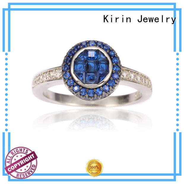 stunning ladies plain silver ring jewewlry from China for girlfriend