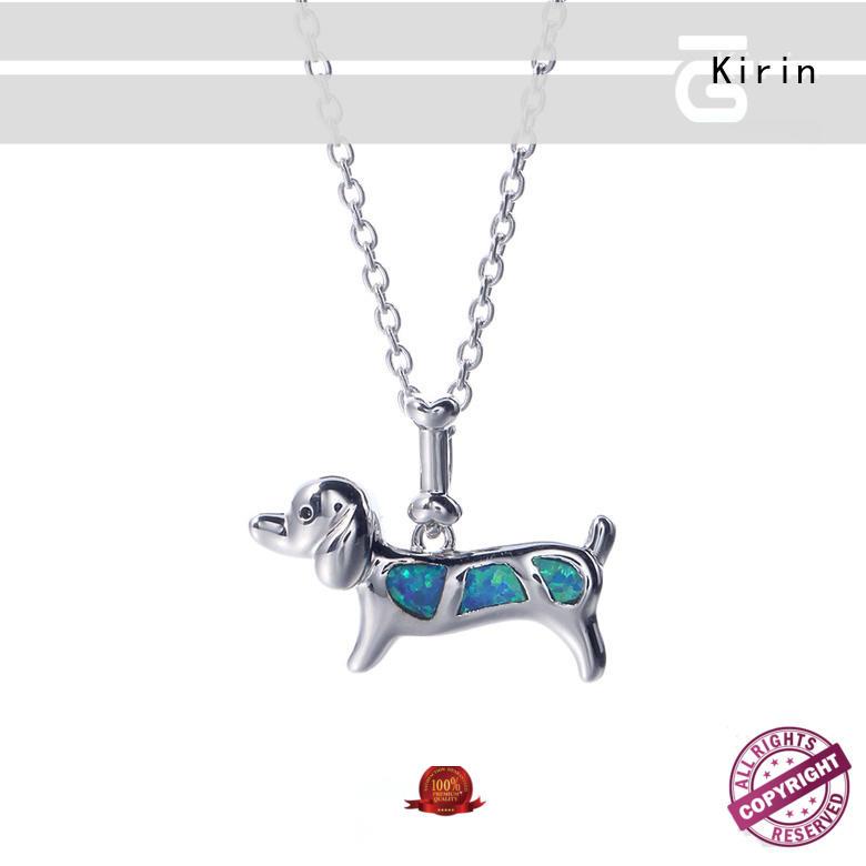 Kirin attractive silver pendants Suppliers for girlfriend