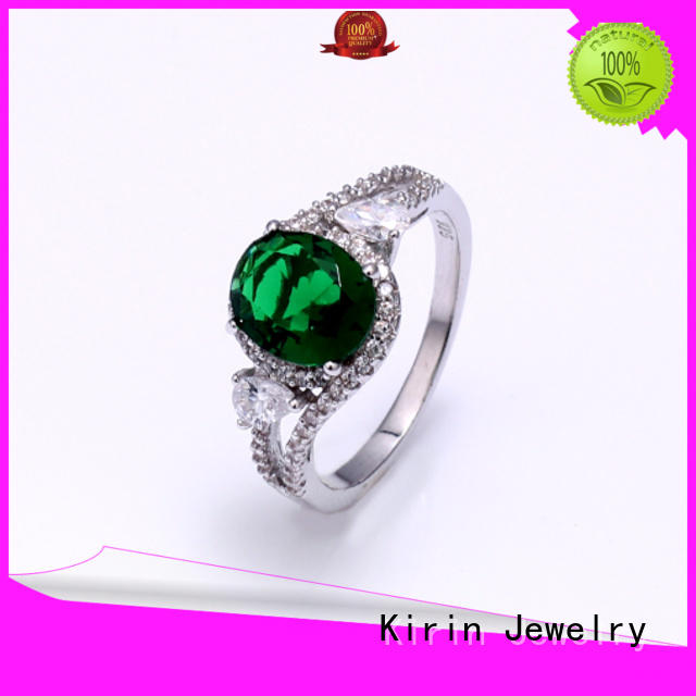 attractive amazing silver rings from manufacturer for partner Kirin Jewelry