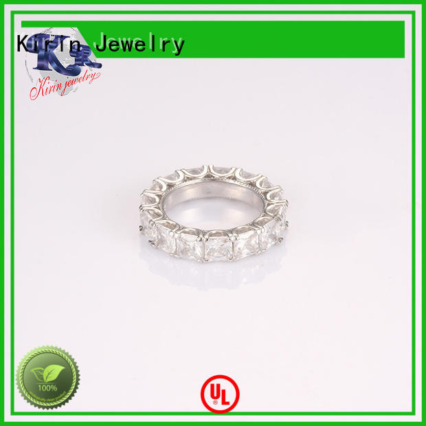 classical 925 sterling ring cz for partner Kirin Jewelry