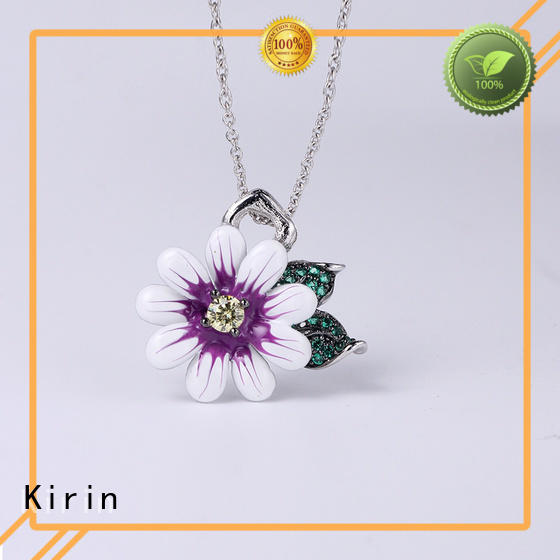 Kirin cute ladies necklace and earring sets free quote for female