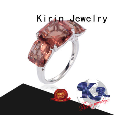 Kirin charming cute simple silver rings customization for lover