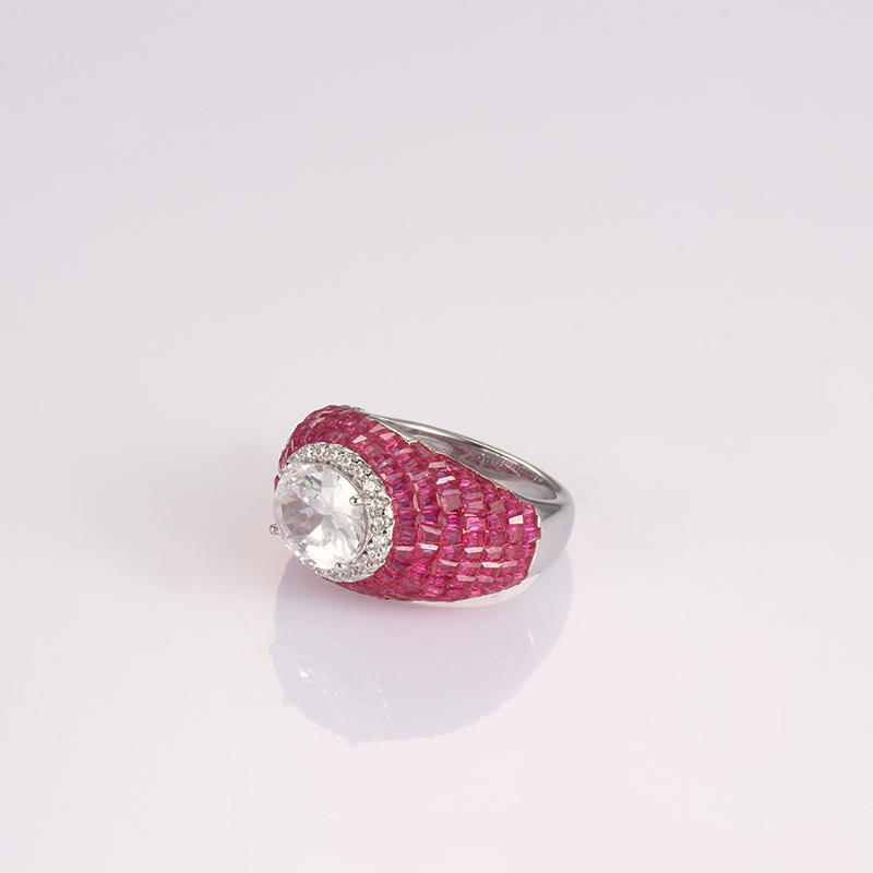 lovely sterling silver rings for sale cz company for girlfriend-2