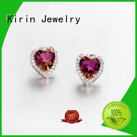 Hot luxury prong setting jewelry july engagement Kirin Jewelry Brand