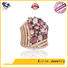 925 sterling silver jewelry rings rose serene Bulk Buy spring Kirin Jewelry
