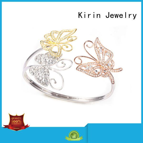infinity zircon pave setting jewelry plated Kirin Jewelry Brand