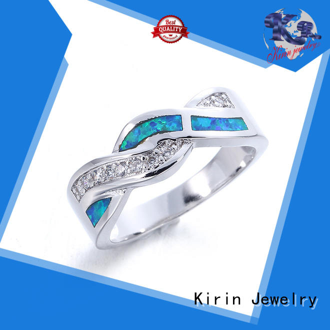 Kirin Best natural opal rings with cheap price for lover