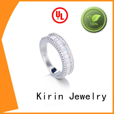 Kirin finger women's wide band silver rings from China for mother