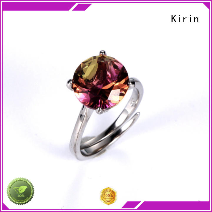 Kirin anniversary couple rings silver from China for mother