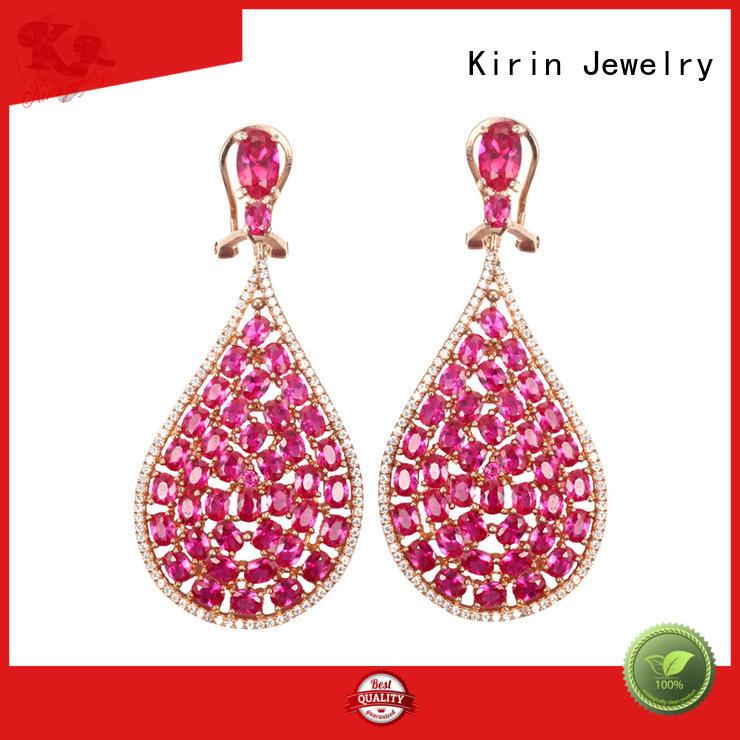 stud earrings for women zircon for lover Kirin Jewelry