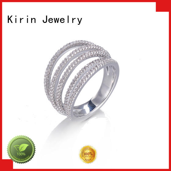 Kirin Jewelry authentic amazing silver rings customization for mate
