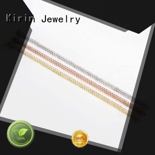 Women Charm Cubic Zirconia Round Cut 925 Sterling Silver Tennis Bracelet Bangles 60071