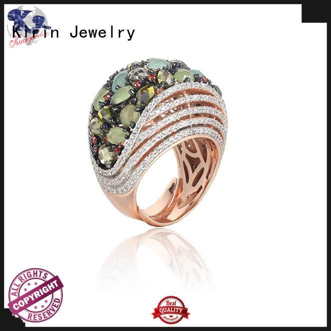 Kirin design vintage silver rings factory for family