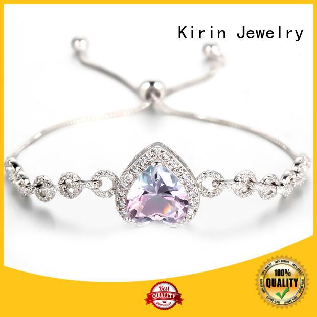 Kirin appealing pure silver bracelet marketing for lover