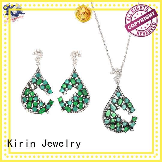 Kirin Jewelry attractive chain set jewellery women for lover