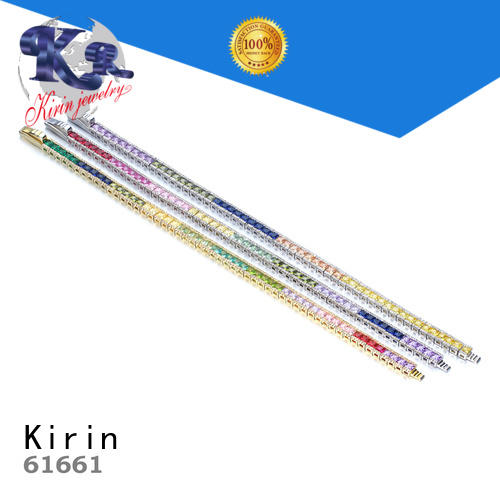 Kirin rainbow jewel necklace Supply for girlfriend