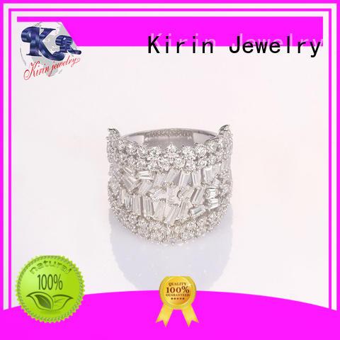 Kirin 3pcs long sterling silver rings Suppliers for partner
