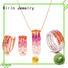 925 sterling silver wedding sets rings eternity Warranty Kirin Jewelry