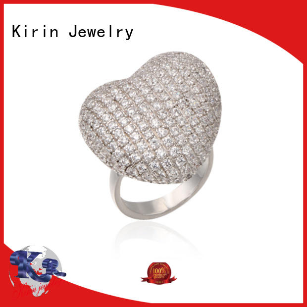 exquisite pure silver rings for womens bulk production for mother Kirin