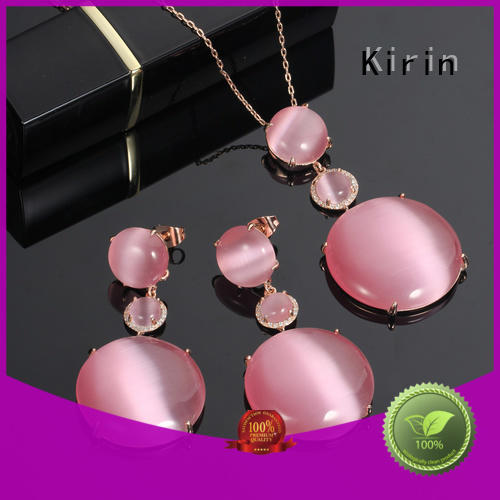 Kirin promise rose gold jewelry set free quote for family