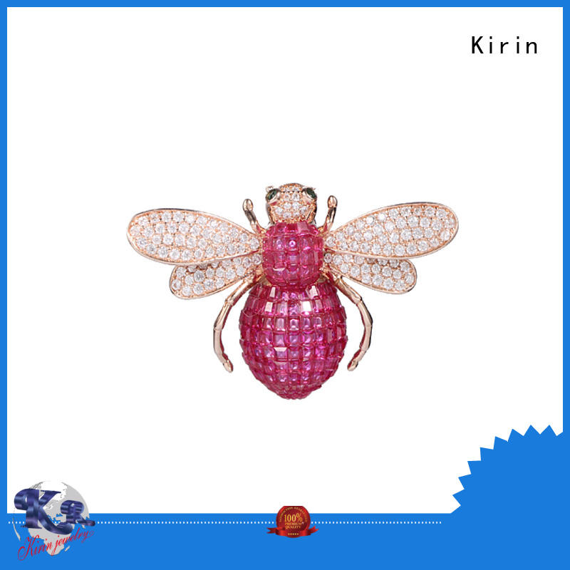 Kirin jewellry silver safety pin producer for mother